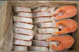 Стейк лосося