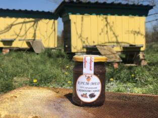 Корисний для імунітету крем-мед