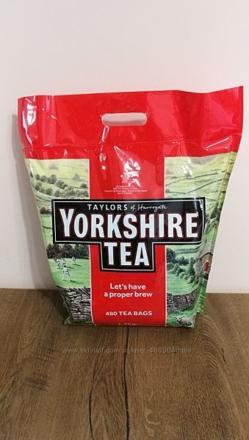 Чай – YORKSHIRE TEA – 480 пак. 1,5 кг. термін до 31.12. 2021 р.