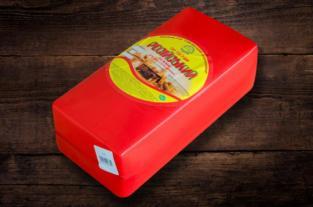 Сир твердий Гайсин Російський брус