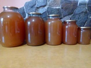 Сік яблучний домашній концентрований